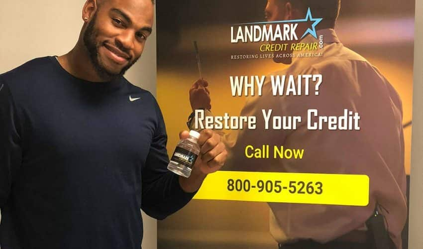 Rico Gathers at Landmark Credit