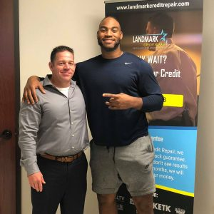 Rico Gather with Brad Young CEO Landmark Credit