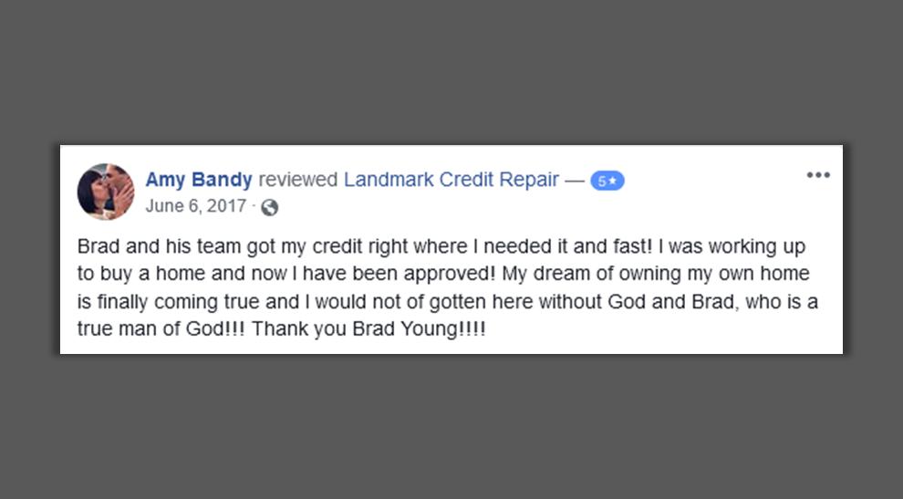 Credit improvement services